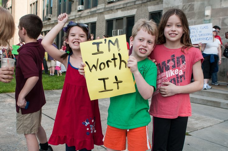 Students from May's Roxborough Corridor Parent Summit. Photos: Matthew Hall Photography