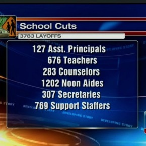 This is not a school: Parents United statement on district layoffs