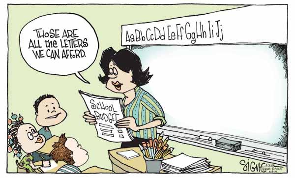 Cartoon: Signe Wilkinson, May 2012
