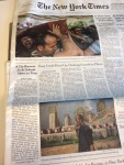 """Philadelphia's school situation makes the front page of the New York Times with quotes from our leadership parents: Mark and Leslie Tyler, Helen Gym, and Tomika Anglin. The online accompaniment to the story included a full photo gallery and named Helen Gym as the Times quote of the day: """"Nobody is talking about what it takes to get a child educated. It's just about what the lowest number is needed to get the bare minimum. That's what we're talking about here: the deliberate starvation of one of the nation's biggest school districts."""""""