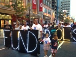The day before school opened, Parents United joined PCAPs and 100s of others in a march to support our schools.