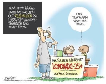 (Editorial cartoon: John Cole)