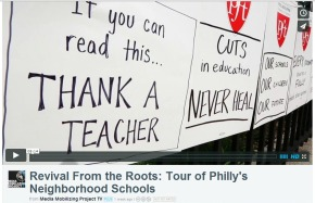 """""""Revival from the Roots"""": A listening tour of Philly Schools with Parents United and PFT's JerryJordan"""