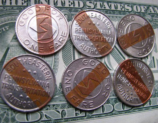 SEPTA tokens