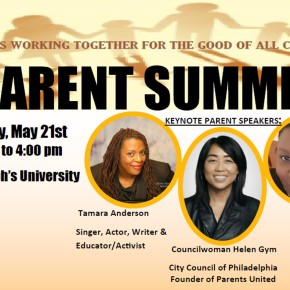 REGISTER TODAY! Parent Summit 2016 – Sat May 21st