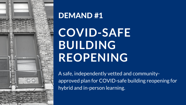 Demand 1: COVID-Safe Building Reopening