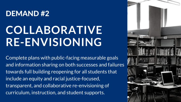 Demand #2: Collaborative Re-Envisioning