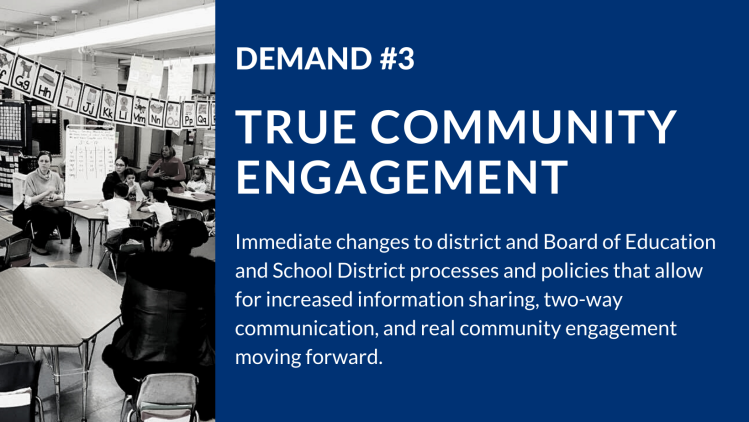 Demand #3: True Community Engagement